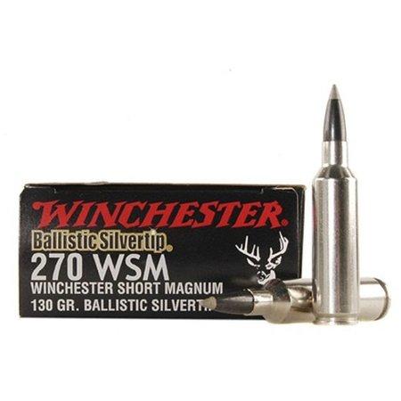270 WSM 130 gr  20 ct