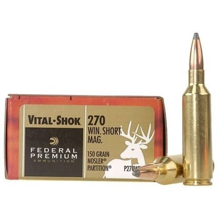Federal Vital-Shok 270 Win Short Mag 150 gr 20 ct