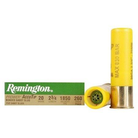 Remington 20ga 2 3/4 1850 260 gr sabot slug