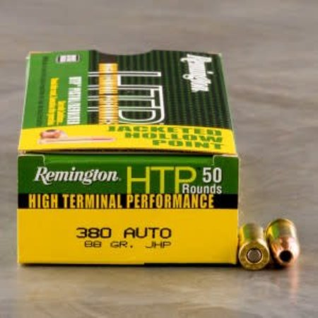 Remington 380 Auto 88 gr JHP 50 ct