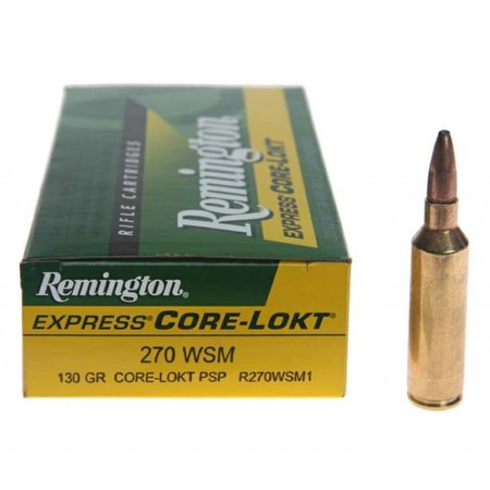Remington Core-Lokt 270 WSM 130 gr 20ct