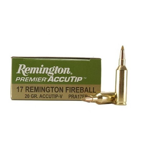 Remington Premier 17 Rem Fireball 20 gr 20 ct
