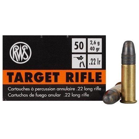Target Rifle .22 LR 50 ct