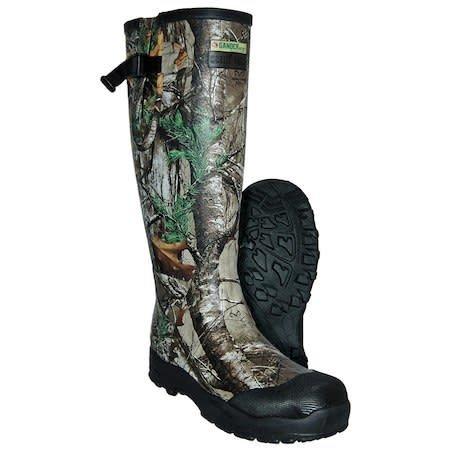 "Gander Mountain 16"" Wet Trek Fanatic 3.5mm Rubber Hunting Boot Realtree Size 12"