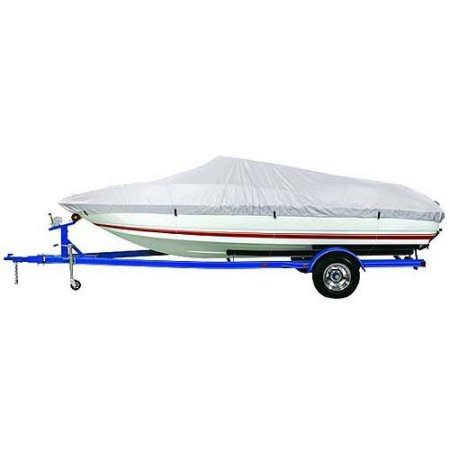 HD 600 Trailerable Boat Cover for 12'-14' V-Hull Fishing Boat
