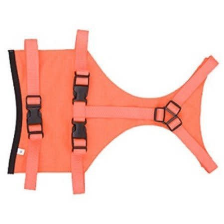 Mendota Products - Skid Plate Dog Chest Protector, Large (Orange)