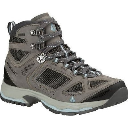 Vasque Breeze III GTX Gore-Tex Hiking Boots for Ladies - Gargoyle/Stone Blue Size 6