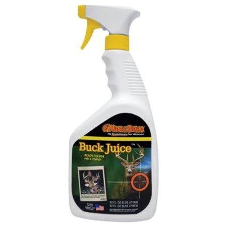 C'mere Deer 32 oz Buck Juice Spray Bottle