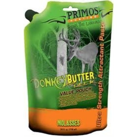 Primos Donkey Butter Molasses Flavored Paste Attractant, 24-Ounce Tube
