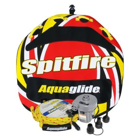 Spitfire 2-person Towable Tube Package Set