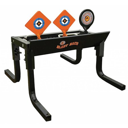 Do-All Outdoors - Blast Back Auto Resetting Steel Target, Rated for .22/.17 Caliber
