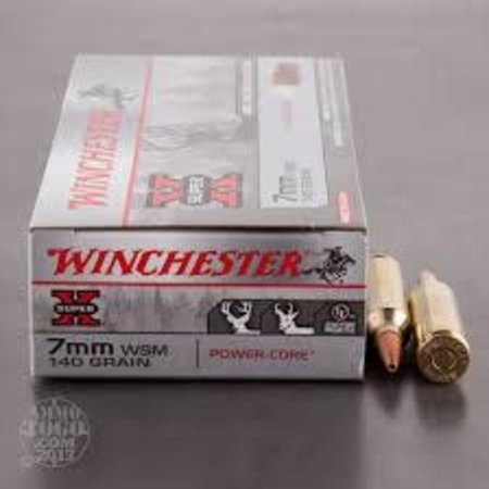 Winchester 7mm WSM 140 gr 20 ct