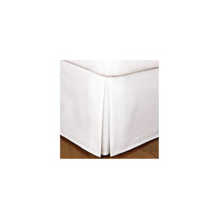 """TODAYS HOME Tailored KING Bedskirt White 14"""" drop Bedding Decor"""