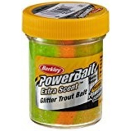Berkley Powerbait Extra Scent Glitter Trout Dough, Rainbow