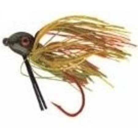 Strike King Bitsy Bug Jig Fishing Bait ‑ 3/16 Oz. ‑ Black