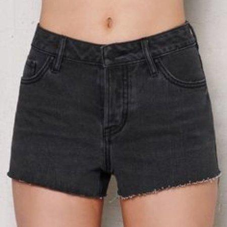 PacSun Mid Rise Shorts Black
