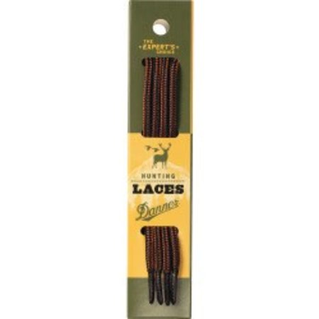 Black and Tan Boot Laces (63 Inch)