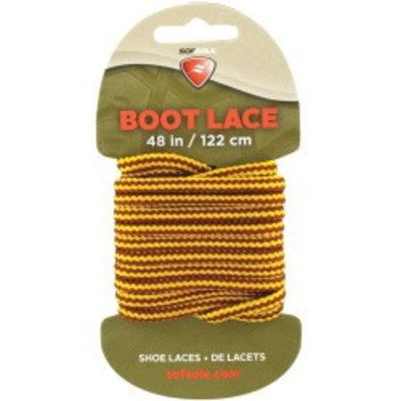 """Boot Waxed Lace Gold/brown 48"""""""