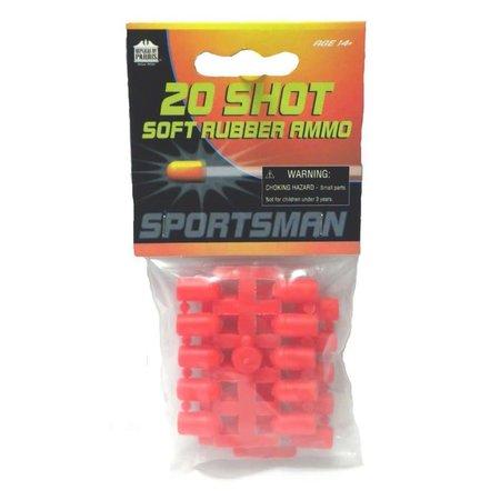 20 Shot Soft Rubber Ammo