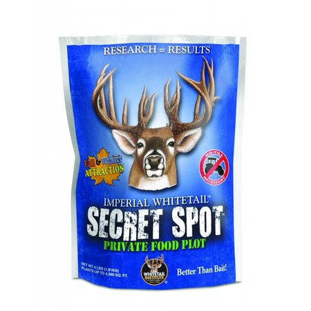 Whitetail Institute Imperial Secret Spot Food Plot Seed (Fall Planting), 4-Pound (4,500 sq. ft.)