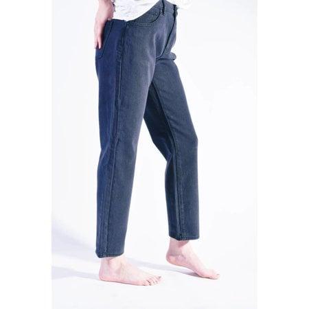 Pac Sun Graphite Mom Jeans