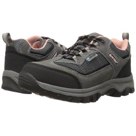Kid's Hillside Low Waterproof Junior Charcoal/Blush Hiking Boot
