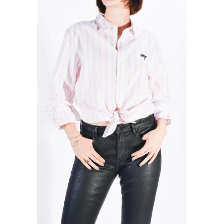 Modern Amusement Shirt White / Pink