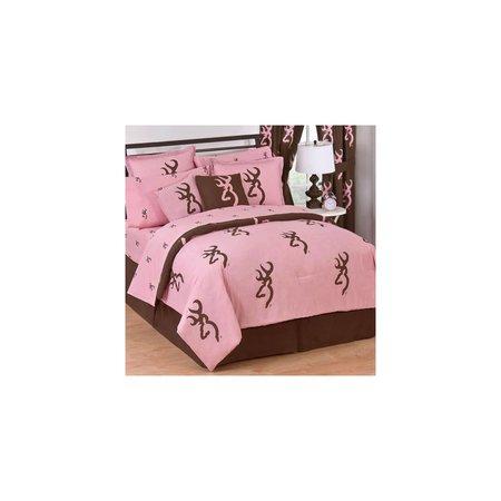 Pink Camo Comforter Set Twin