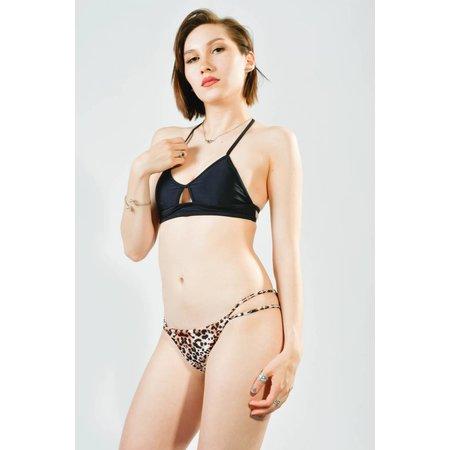 PacSun LA Hearts Leopard Swim Suit Bottoms