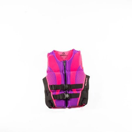 Gander Mountain Womens Hinged Rapid Dry Life Jacket-Pink