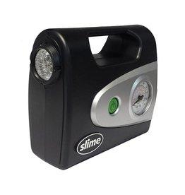 Slime Pro PUMP SLIME AIR INFLATOR 12V w/GAUGE+LIGHT