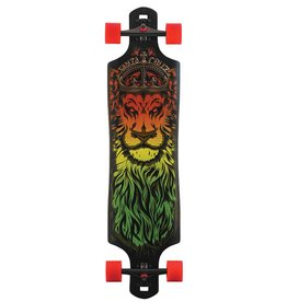 Santa Cruz Skate Lion God Drop Thru Cruzer 10in X 40in Santa Cruz Skate