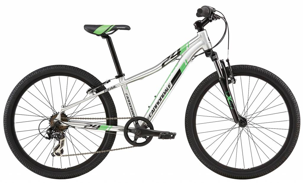 24 M Cannondale Kids 24 Trail RAW OS RAW O/S