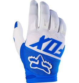 Fox Racing Fox Racing Dirtpaw Men's Full Finger Glove: Blue LG
