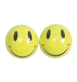 TRICKTOPZ VALVE CAPS TRIKTOPZ HAPPY FACE 1pr/PK