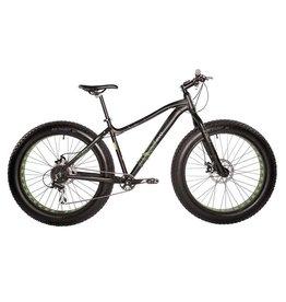 EVO, Big Ridge 7.0 Fat Mountain Bike, Black, S (2017)