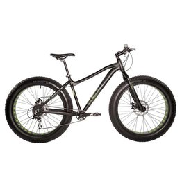 EVO EVO, Big Ridge 7.0 Fat Mountain Bike, Black, S (2017)