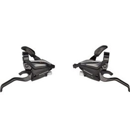 Shimano EF500 3x7-Speed Brake/Shift Lever Set Black