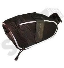 SERFAS SERFAS BLACK EVA SEAT BAG LARGE, BLACK/WHITE