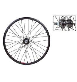 Wheel Master WHL RR 20x1.75 406x19 ALY BK 36 ALY FW 1sp 3/8 BK 110mm 14gBK