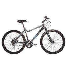 EVO, Swift Ridge 5.0 Dual Sport Bicycle, Grey, XL (2017)