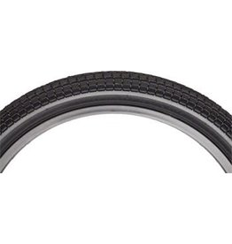 "Odyssey Aaron Ross Black Keys Tire 20"" x 2.1"" Black with Black Reflective Stripe"