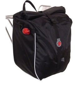 Banjo Brothers Banjo Brothers Waterproof Pannier: Black, Each