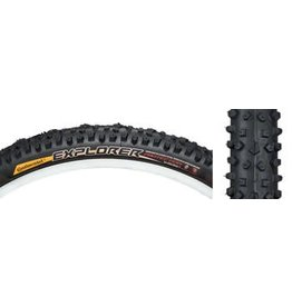 "Continental Continental Explorer Tire 26x2.1""  Black"