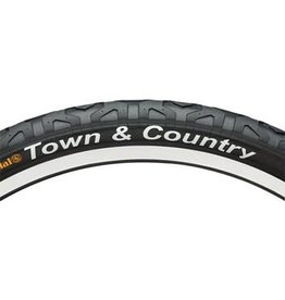 "Continental Town & Country Tire 26x2.1"" Black"