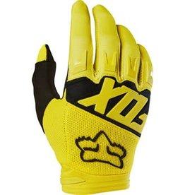 Fox Racing Dirtpaw Men's Full Finger Glove: Yellow LG