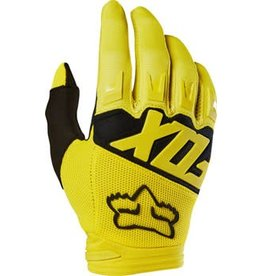 Fox Racing Fox Racing Dirtpaw Men's Full Finger Glove: Yellow LG