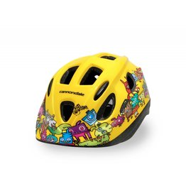 Cannondale Burgerman Colab Kids Yellow Extra Small