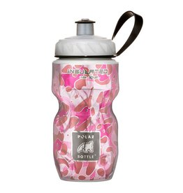 BOTTLE POLAR 12oz PINK LEOPARD
