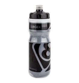 BOTTLE OR8 600cc INSULATED CLR/BLK HIGH